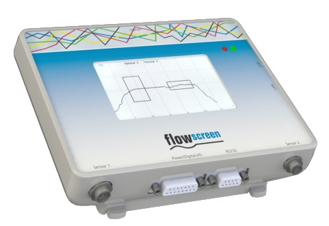 flowscreen: evaluation unit for flowplus<sup>16</sup>